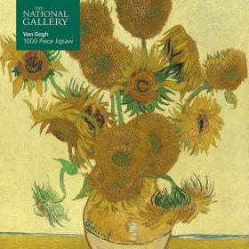 Vincent Van Gogh, Sunflowers: 1000-piece (Jigsaw Puzzle)