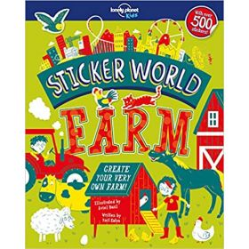 Sticker World: Farm, Lonely Planet Kids (Paperback)