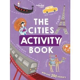 The Cities Activity Book: Lonely Planet Kids (Paperback)