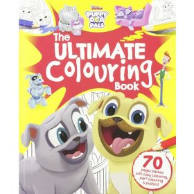 Puppy Dog Pals: The Ultimate Colouring Book (Paperback)