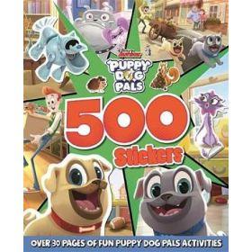 500 Stickers Disney Junior: Puppy Dog Pals (Paperback)