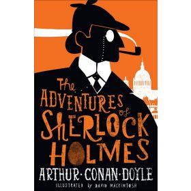 The Adventures of Sherlock Holmes, Alma Junior Classics (Paperback)