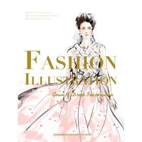 Fashion Illustration: Gown & Dress Inspiration (Paperback)