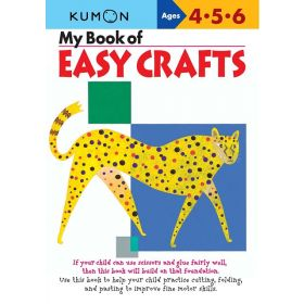 My Book of Easy Crafts: Kumon Workbook, Ages 4-5-6 (Paperback)
