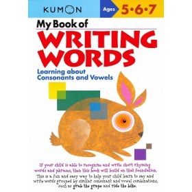 My Book of Writing Words: Consonants and Vowels (Paperback)