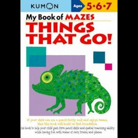 My Book of Mazes: Things That Go!, Kumon Workbooks (Paperback)
