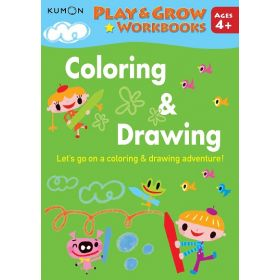 Kumon Play and Grow Workbooks: Coloring & Drawing (Paperback)