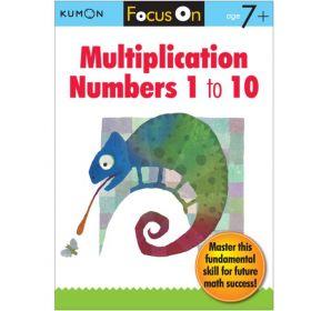 Focus On Multiplication: Numbers 1-10 (Paperback)