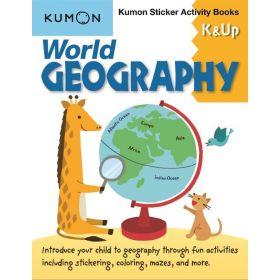 World Geography K & Up Sticker Activity Books (Paperback)