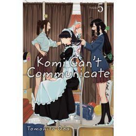 Komi Can't Communicate, Vol. 5 (Paperback)