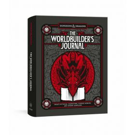 Dungeons & Dragons: The Worldbuilder's Journal of Legendary Adventures: 365 Questions to Help You Create Mythical Characters, Storied Worlds, and Unique Campaigns (Diary)