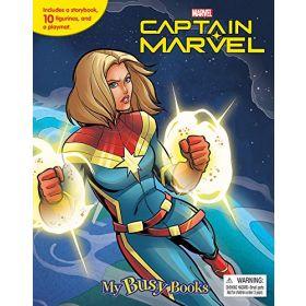 Marvel Captain Marvel: My Busy Book (Hardcover)