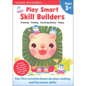 Play Smart Skill Builders Age 3+: At-Home Activity Workbook (Paperback)