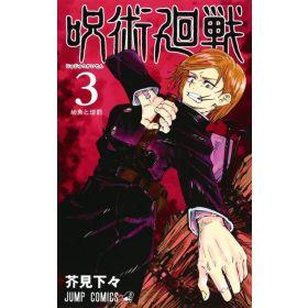 Jujutsu Kaisen Vol. 3, Japanese Text Edition (Paperback)