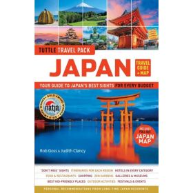 Japan Travel Guide and Map Tuttle Travel Pack (Paperback)