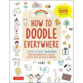 How To Doodle Everywhere: Fun & Easy Drawings (Paperback)