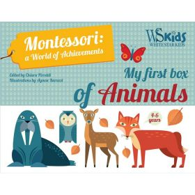My First Box of Animals: Montessori, A World of Achievements (Paperback)