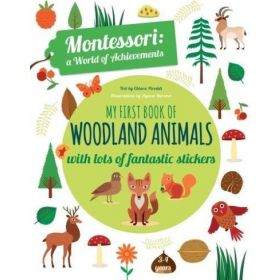My First Book of Woodland Animals: Montessori a World of Achievements (Paperback)