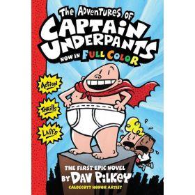 The Adventures Of Captain Underpants: Color Edition, Captain Underpants #1 (Paperback)