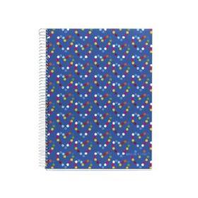 Miquelrius: A4 Spiral Notebook, Agatha Ruiz de la Prada (Dots)