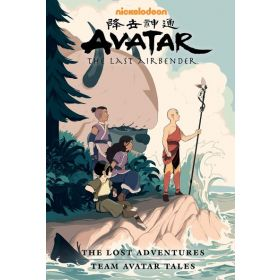 Avatar: The Last Airbender—The Lost Adventures and Team Avatar Tales, Library Edition (Hardcover)