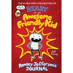 Diary of an Awesome Friendly Kid: Rowley Jefferson's Journal, Export Edition (Paperback)