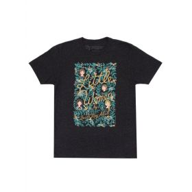 Out of Print: Little Women, Puffin in Bloom, Unisex T-Shirt (Medium)