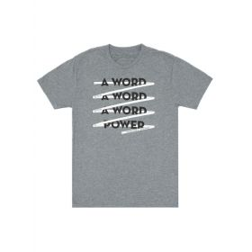 Out of Print: A Word is Power - Margaret Atwood Unisex T-Shirt (Large)