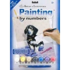 Royal & Langnickel: Painting by Numbers Junior Small (Bad Puppy)