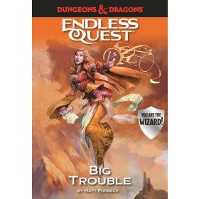 Big Trouble, Dungeons & Dragons Endless Quest (Hardcover)