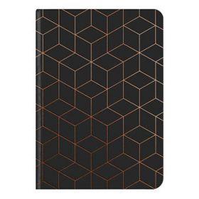 teNeues: Midi Flexi GlamLine Black & Copper Journal