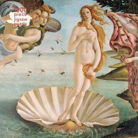 Sandro Botticelli: The Birth of Venus, 1000-piece Jigsaw Puzzle