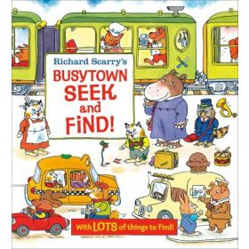 Busytown Seek and Find!, Richard Scarry's (Board Book)
