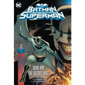 Batman/Superman, Vol. 1: Who are the Secret Six? (Hardcover)