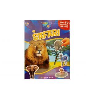 On Safari: Sticker Book (Paperback)