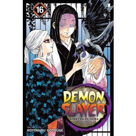 Demon Slayer: Kimetsu no Yaiba, Vol. 16 (Paperback)