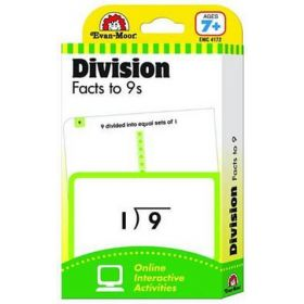 Flashcards: Division Facts to 9S (Cards)