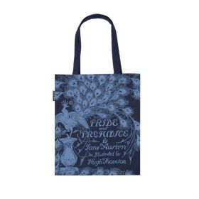 Out of Print: Pride and Prejudice Tote Bag (Blue)