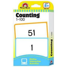 Counting 1-100, Flashcards: Math (Cards)