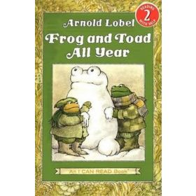 Frog And Toad All Year, I Can Read Books Level 2 (Paperback)