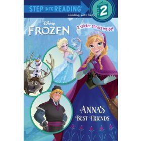 Anna's Best Friends: Disney Frozen, Step into Reading Level 2 (Paperback)