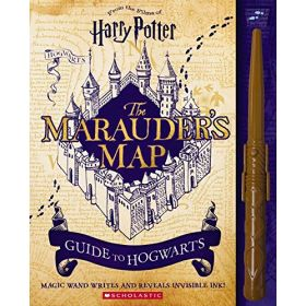The Marauder's Map: Guide to Hogwarts, Harry Potter (Hardcover)