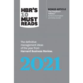 HBR's 10 Must Reads 2021: The Definitive Management Ideas of the Year from Harvard Business Review (Paperback)
