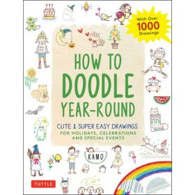 How to Doodle Year-Round (Paperback)
