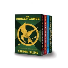 The Hunger Games: Four Book Collection, Box Set (Hardcover)