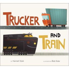 Trucker and Train (Board Book)