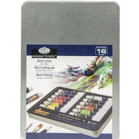Royal & Langnickel: Medium Acrylic Painting Art Set - 16 pc