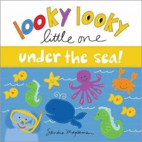 Looky Looky Little One Under the Sea (Board Book)