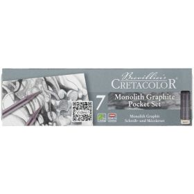 Cretacolor: Monolith Graphite Pocket Tin Set