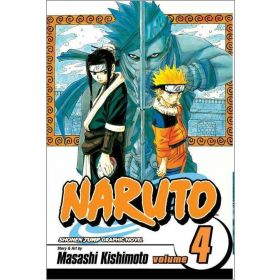 Naruto, Vol. 4: Hero's Bridge (Paperback)